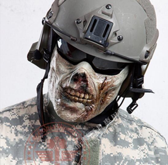 M05 Zombie Half Face Mask