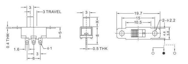 Jingji STD SLR Gearbox Cable Line Parts