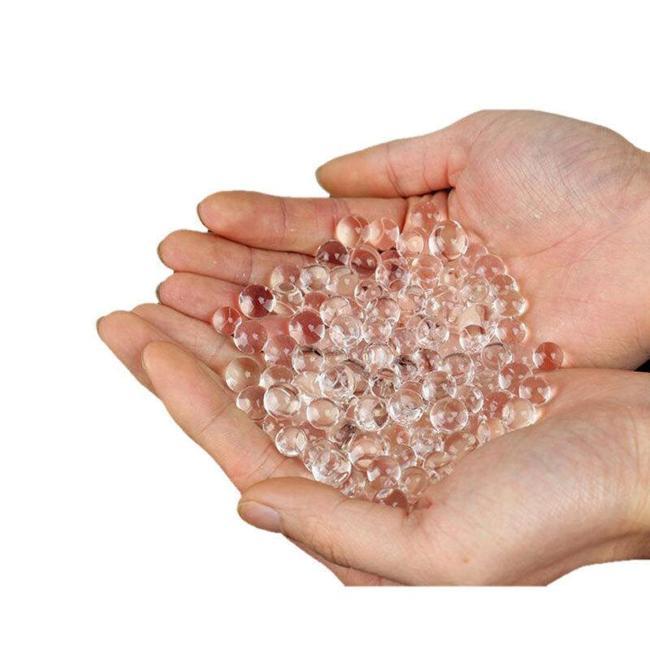 10,000Pcs 7-8mm Transparent Gel Balls
