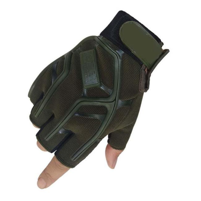 Breathable Anti-slip Military Half Finger Tactical Gloves