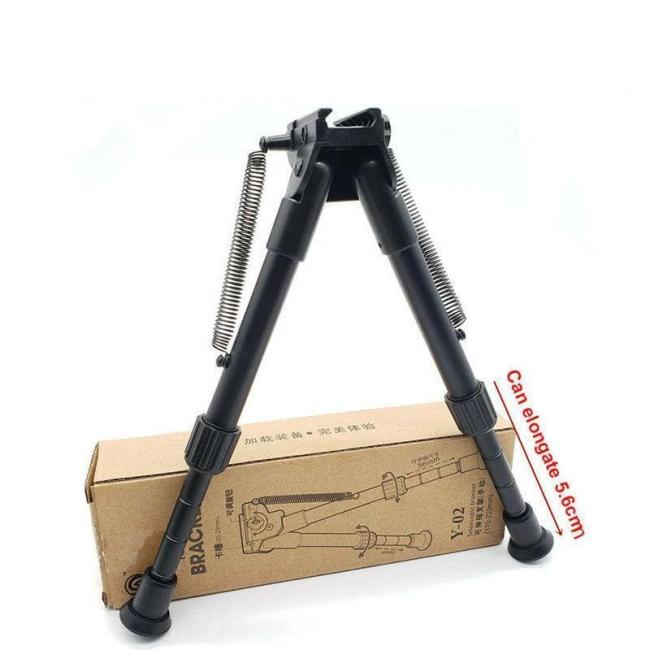 3 Levels Adjustable 7  to 9  Tactical M4 Stent Bipod
