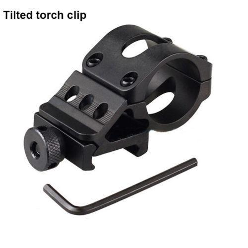 Tilted Straight Torch Flashlight Clip