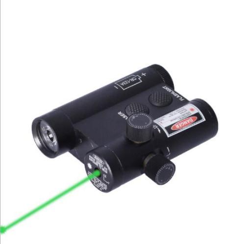 Green Laser Flashlight Combo