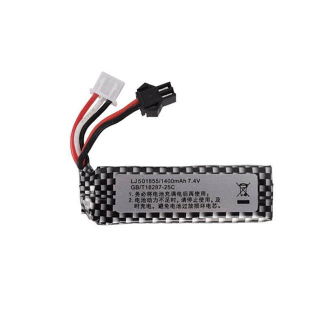 7.4V 1400mAh / 11.1V 1800mAh Lipo Battery