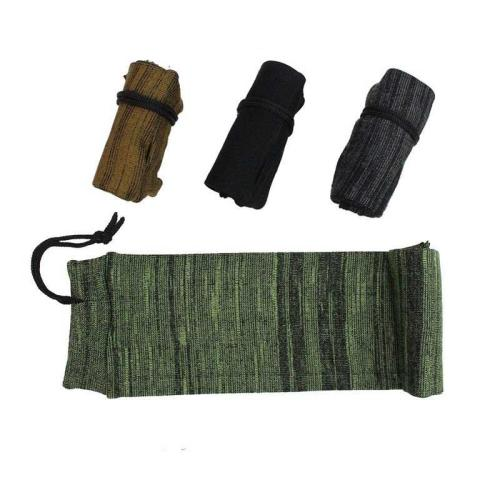 14'' Airsoft Pistol Gun Sock Polyester Silicone Treated Moistureproof Cover Case