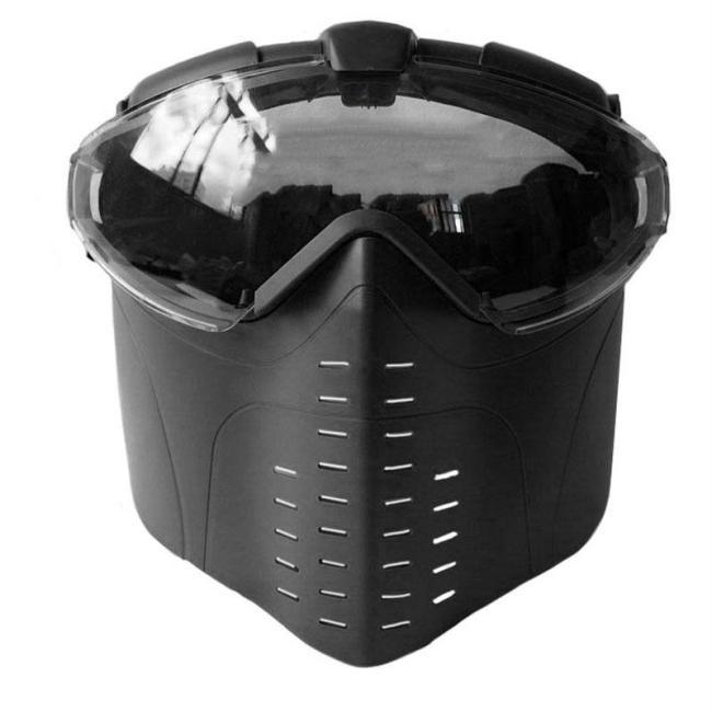 Dustproof Anti-fog Tactical Full Face Goggle Mask
