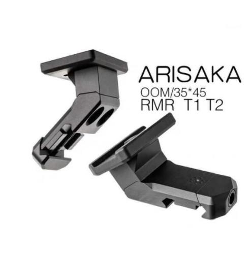 Arisaka Offset Optic Mount for Aimpoint Micro T1 T2 H1 H2 Trijicon RMR SRO SIG Romeo5 Holosun