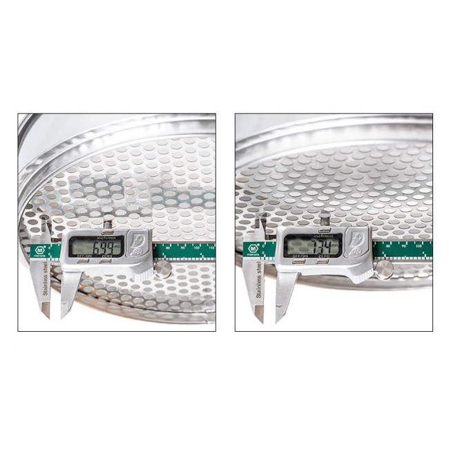 7mm 7.35mm Gel Balls Size Sorting Sieves