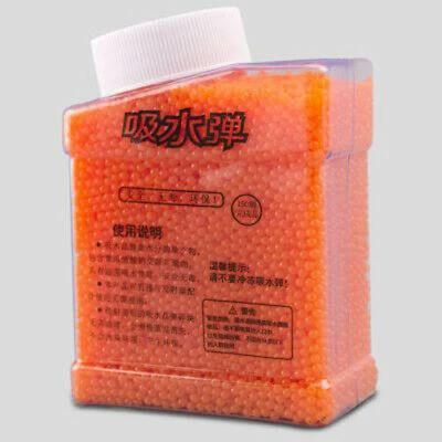 40000/100000pcs 7-8MM Hardened Coloured Gel Balls