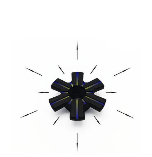 Competition Large Airflow Snowflake Piston Head