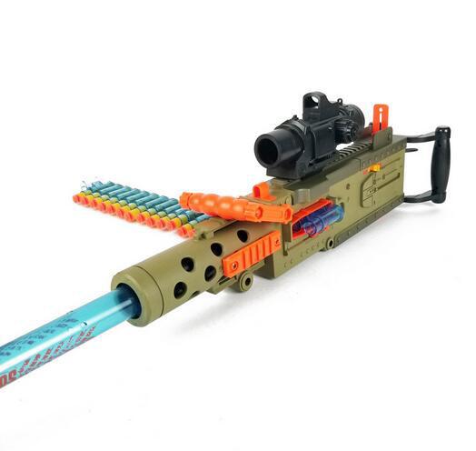 JF M2 Electric Soft Bullet Dart Heavy Machine Gun