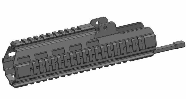 LDT/3DG G36c G36k B&T Handguard