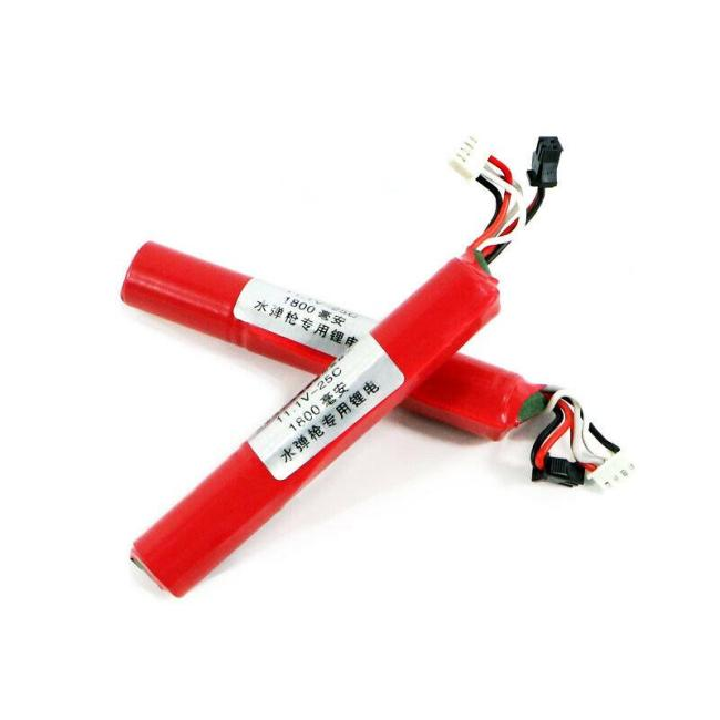 11.1v 1800mah Red lipo battery 25c