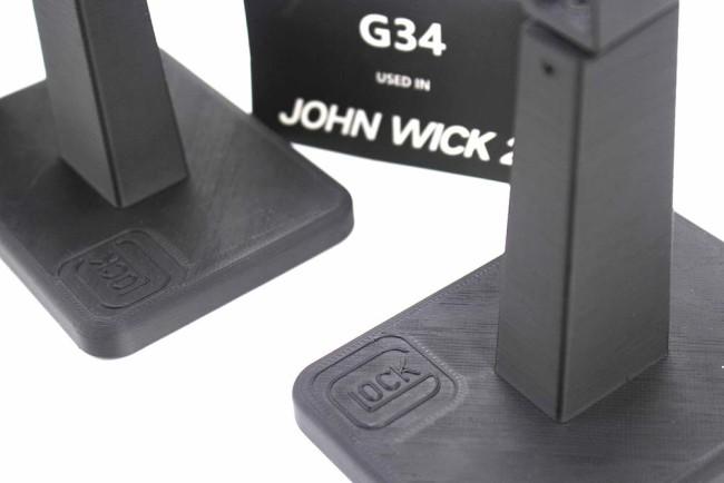 John Wick TTi G34 Glock Display Stand