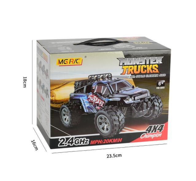 MGRC 4CH 4WD Crawler RC Car 1:18 (AU Stock)