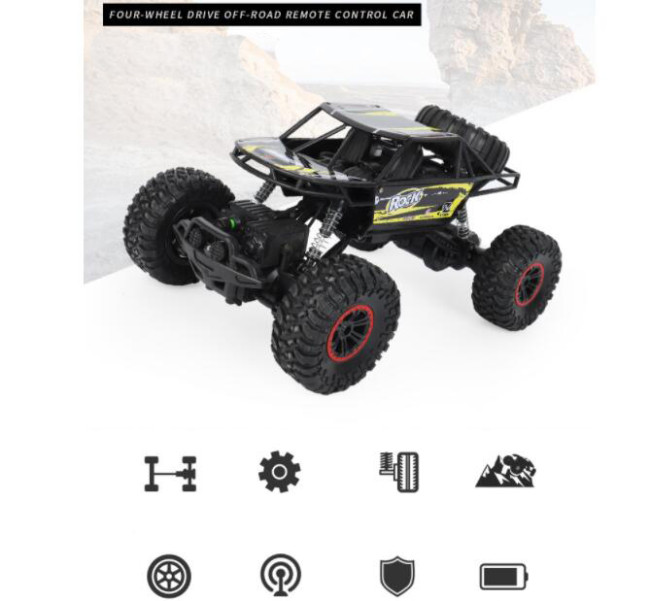 689 4WD High Speed Off-Road RC Car 1:14 (AU Stock)