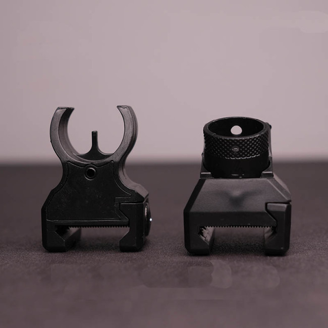 HK416 Front and Rear Mechanical Sight
