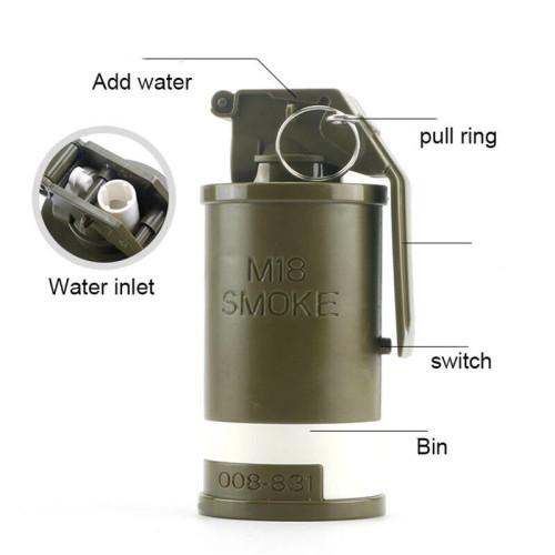 M18 Smoke Grenade w/ Electric Water Sprays Music Light