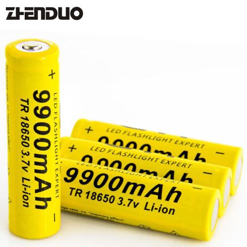 GTF 3.7V 18650 9900mAh Li-ion Rechargeable Battery