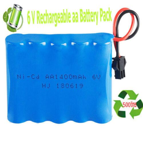 HJ 180619 6v 1400mah AA Battery Pack