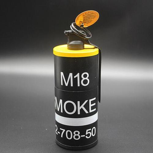 ZL859 M18 Smoke Grenade Lighter Ashtray