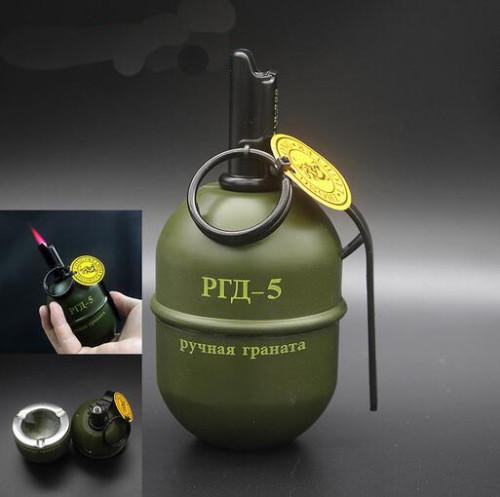 ZL812 Grenade Lighter Ashtray