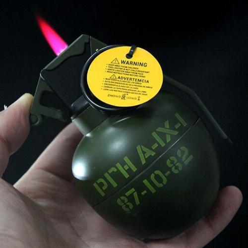 ZL810 Grenade Ashtray Lighter