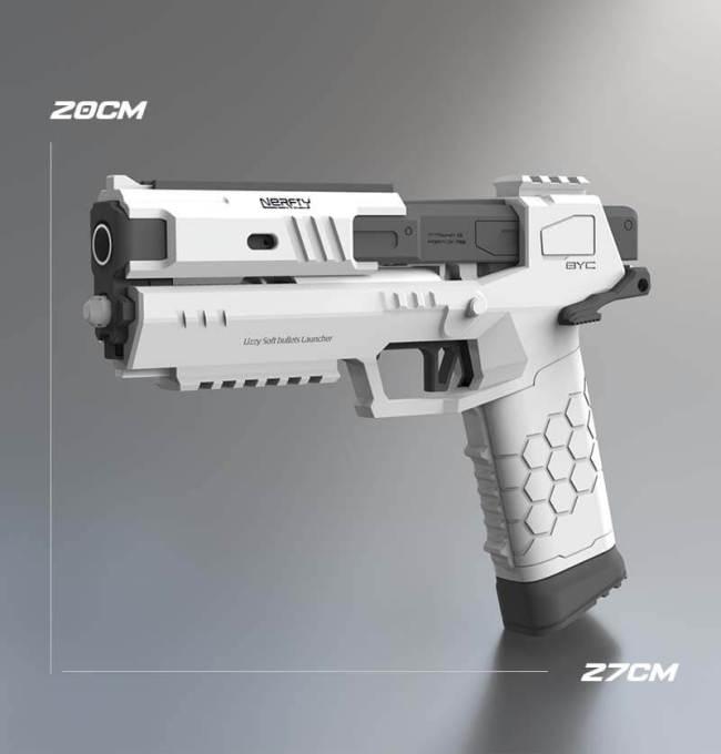 Cyberpunk 2077 Lizzie Gecko Nerf Pistol - Injection Moulding