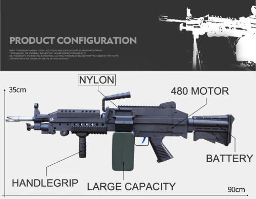 ZeHua M249 V4 Upgraded Gel Blaster (AU Stock)