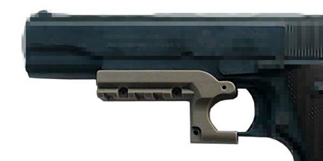 Colt 1911 Picatinny Rail Adapter Mount