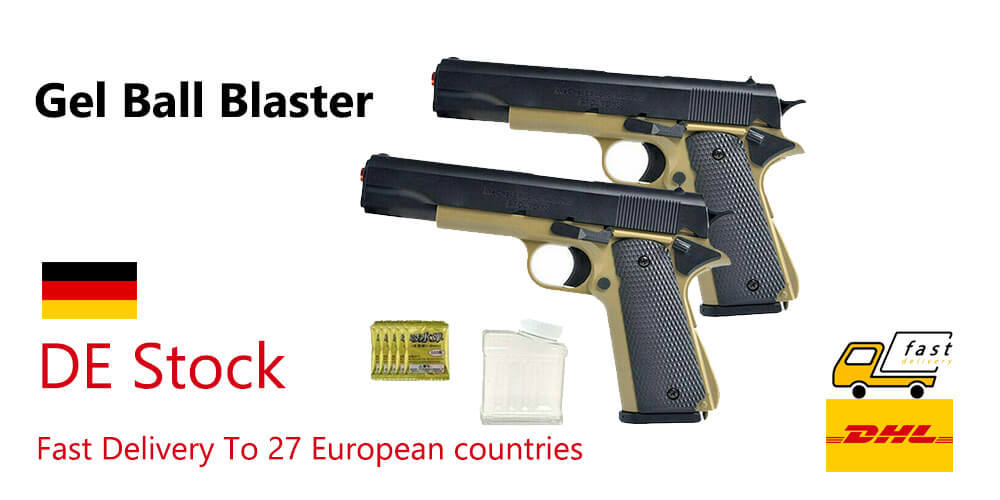 europe shipping gel blasters from germany