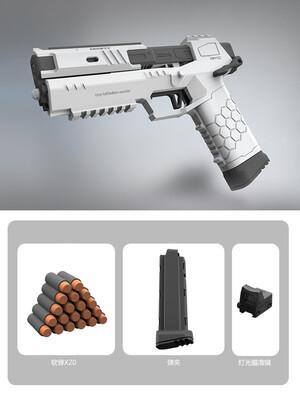 The Gecko: Cyberpunk Nerf Blaster Injection Molding Lizzie