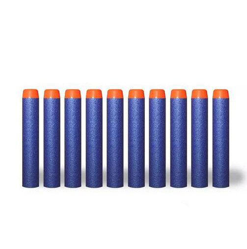 Soft Foam Nerf Elite Dart Refill Bullets 72x13mm