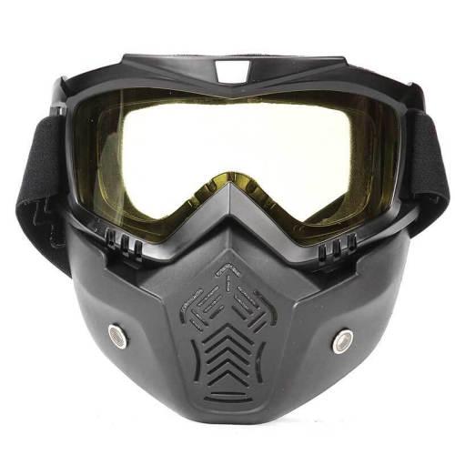 Anti-Fog Harley Motocross Goggle Tactical Mask
