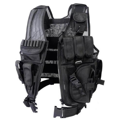 Multi-Pocket SWAT Tactical Vest