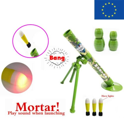 Foam Rocket Mortar Launcher Toy (EU Stock)