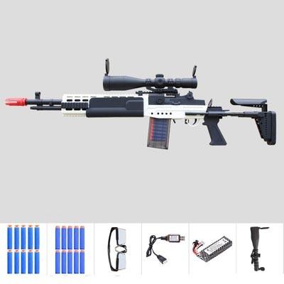 Electric MK14 EBR Foam Dart Blaster