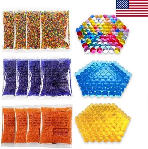 120,000Pcs Gel Ball Bullet Refill Ammo 7-8mm - Color Blue, Orange, Mix (US Stock)