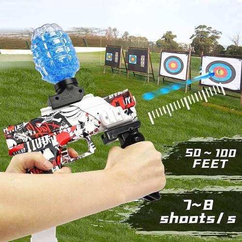 BIU Glock Electric Hopper-Fed Gel Blaster Orbeez Gun (US Stock)