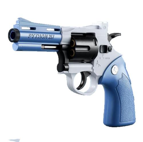 Python 357 Revolver EVA Foam Dart Toy Gun