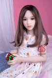 『美纱』128cm 平胸EVO骨格ロリラブドールMOMOdoll#062