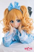 Aotume Doll #001 桜日 135cmスリムAAカップセックスドール