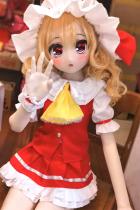 『ククル』135cm AA-cup Aotume #010 激カワアニメ人形 tpe製貧乳ダッチワイフ