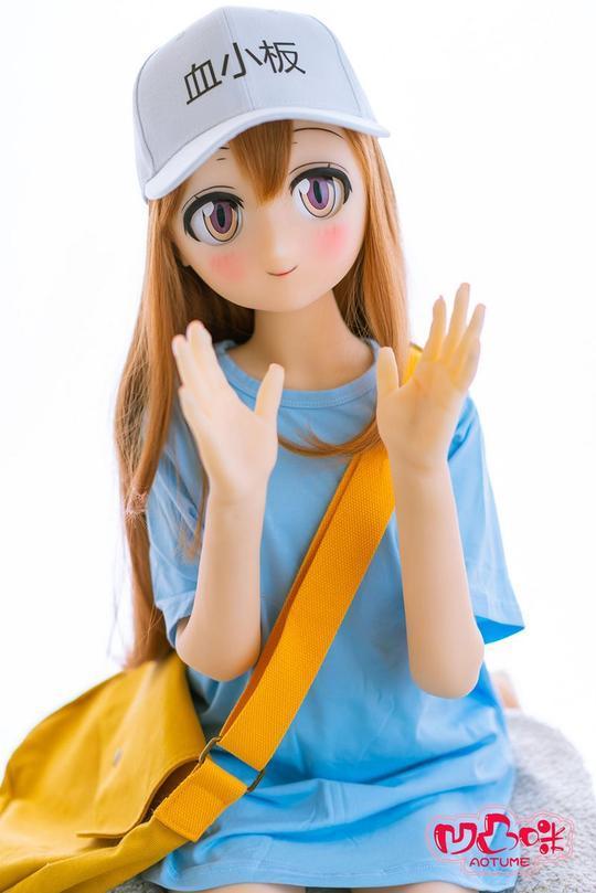 嘉志ちゃんAotume #011ヘッド 135cm slimAA-cup人気アニメ人形