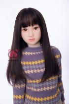 『由美』 138cm A-cup MOMODOLL#047 黒髪パイパン癒し系ラブドール