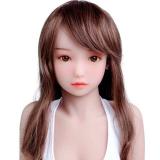 『芽衣』 128cm 微乳 MOMODOLL#058 白色・可愛い・小柄tpeラブドール 安値 ロリドール EVO骨格
