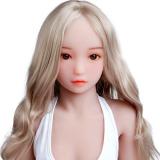 『雪奈』 132cm MOMODOLL#063 童顔で幼い顔立ちセックス人形 tpe製新品リアルドール