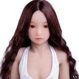 『胡桃』 132cm MOMODOLL#041 貧乳ラブドール 大人っぽいロリドール人形 tpe製 激安通販