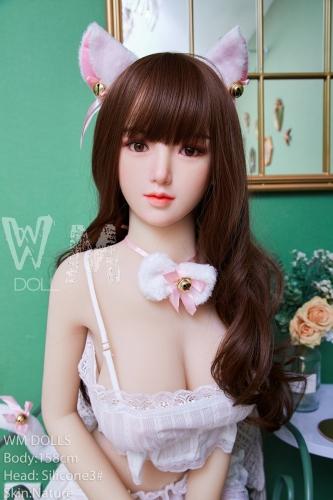 WM DOLL 真香菜 158cmセクシー猫娘シリコンヘッドリアルドール
