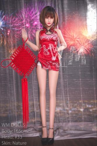 WM DOLL 実花 165cm チャイナドレス少女 等身大ドール